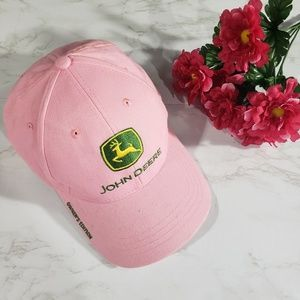 Pink John Deere Owner's Edition Baseball Hat Cap